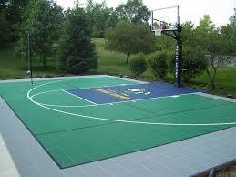 Backyard Sports Court by Blue Sport Court Google Search Sport Court Pinterest