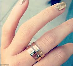cartier rings price images Kylie jenner shows off cartier ring but remains coy about who gave jpg