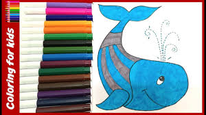 coloring pages for toddlers how to color whale coloring pages