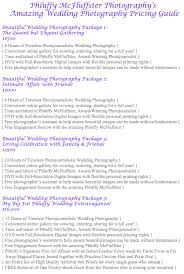 wedding photographer prices how to create photography packages that sell the modern tog