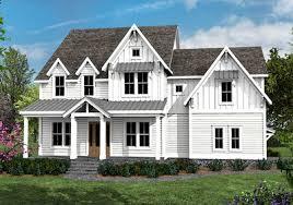farmhouse plan 4 bed farmhouse plan with rocking chair porch 500003vv
