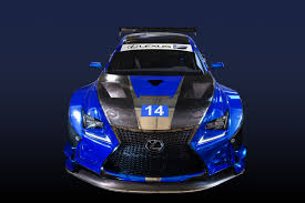 lexus rc f curb weight f performance racing to field the lexus rc f gt3 motrface