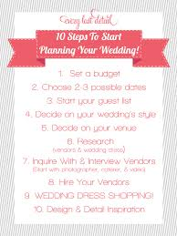 Simple Wedding Planner Newly Engaged 10 Steps To Start Planning A Wedding Wedding