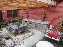 Cheap Outdoor Kitchen Ideas How To Build An Outdoor Kitchen With Cinder Blocks Small Outdoor