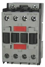 lovato bf09t4a 4 pole 25 amp iec rated contactor with an ac rated coil