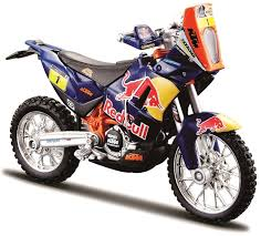 tvs motocross bikes amazon com dirt bike toy bburago ktm rally dak toys u0026 games