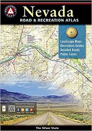 nevada road map nevada road and recreation atlas benchmark national geographic