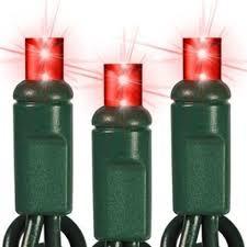 buy 35 count standard grade 5mm conical led light set