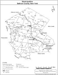 county map of ny sullivan county departments departments n z planning and
