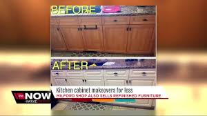 Kitchen Cabinet Business by Milford Business Owner Specializes In Kitchen Cabinet Makeovers