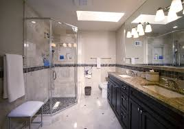Gray And Tan Bathroom - bathrooms summit renovations