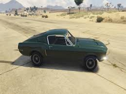 mustang 68 fastback 1968 ford mustang fastback add on replace gta5 mods com