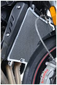 r u0026g racing radiator guard triumph street triple 765 2017 2018