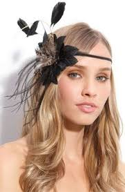 small fascinators for hair gatsby fascinators accessories the great gatsby theme