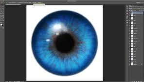 Iris by Realistic Eyes Using Iris Parts Photoshop U0026 Gimp Brushes Tutorial