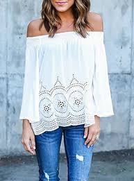 the shoulder blouses the shoulder tops for cheap price