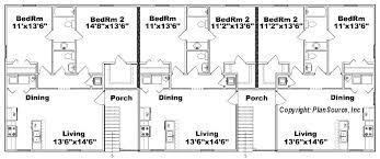 floor plans for units unit house plans multi house plans unit home floor multi unit house