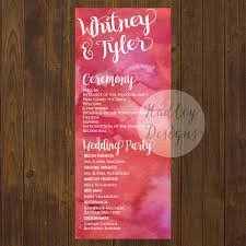 wedding ceremony fan programs hadley designs programs