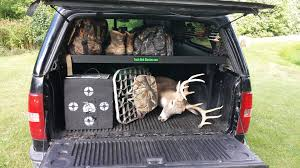 hunting truck truck bed organizer accessories stacker