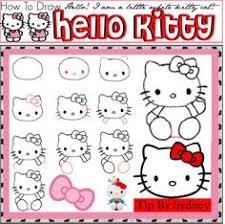 draw kitty kitty kitty drawings