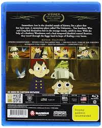 garden wall amazon com over the garden wall blu ray elijah wood collin