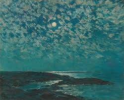 moonlight by childe hassam