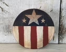 Vintage Americana Decor Americana Decor Etsy