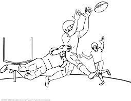 Image Free Printable Football Coloring Pages 75 In Coloring Online Football Coloring Page