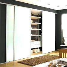 Ikea Sliding Closet Doors Hanging Sliding Closet Doors Brilliant Installing Ikea Pax As Hack