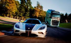 koenigsegg top gear tiff needell volvo fh truck vs koenigsegg