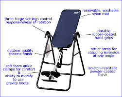 inversion table how to use inversion therapy back pain relief inversion tables