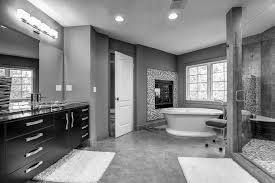 white stained wall black and bathroom decor designs pictures