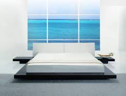 low profile platform beds asian inspired contemporary low profile platform bed in black hawaii