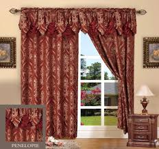 Burgundy Living Room by Burgundy Curtains For Living Room With Elegant Design
