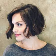 medium length curly bob hairstyles shoulder length angled bob hairstyles with bangs for brown