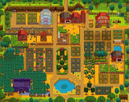 delightful hilltop house plans 7 stardew valley 1024x816 jpg
