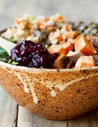 thanksgiving power bowl recipe vegan thanksgiving