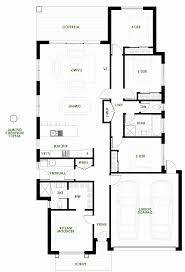 floor plans of a house modern house plans efficient plan single story open floor garage