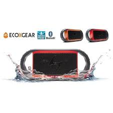 Ecoxgear Rugged And Waterproof Stereo Boombox Ecoxgear Ecoxbt Rugged Waterproof Bluetooth Speaker W 10hr Battery