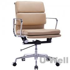 Tan Leather Office Chair Low Back Office Chair Leather Eams Office Chair Suale