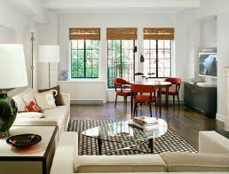 Dark Red Dining Room by Extraordinary Living Room Dining Room Combo White Rectangle Dining