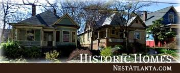 atlanta historic homes for sale craftsman bungalows cottages