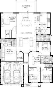 house plans 2 master suites single story newtown single storey home design foundation floor plan wa