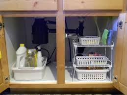 Under Sink Organizer Organize Under Kitchen Sink