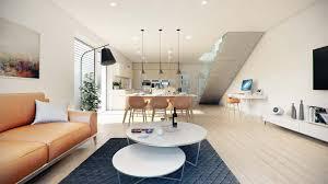 stylish apartment 3d visualization viscato linz