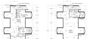 Attic Floor Plans by Utilizing Attic Space With Dormers