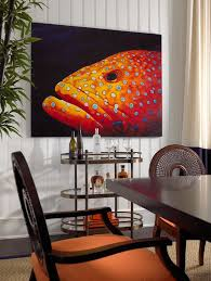 themed dining room five fish themed dining room design ideas