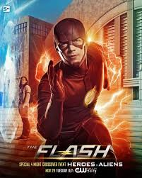 flash vs arrow wallpapers heroes vs aliens u0027 posters for the supergirl the flash arrow and