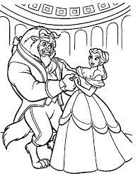 belle teach beast dance coloring belle teach