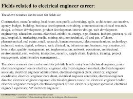 Electrician Job Description For Resume by Top 5 Electrical Engineer Cover Letter Samples